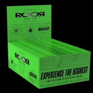 ROOR ORGANIC HEMP SLIM PAPERS + TIPS BOX